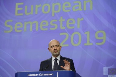 EU Commission presents the European Semester Package in Brussels