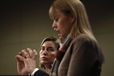 The High Representative of the European Union for Foreign Affairs and Security Policy and Vice-President of the European Commission Federica Mogherini,  the European Commission Vice-President for Jobs, Growth, Investment and Competitiveness, Jyrki Ta