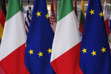 Italian Prime Minister Conte visits EU institutions in Brussels,