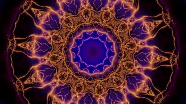 Magický kruh s zvěrokruhy znamení.