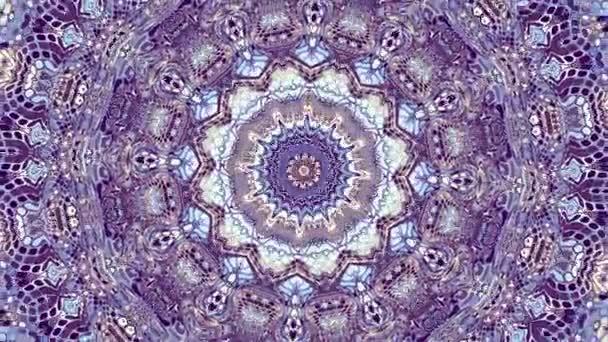 Átalakítása díszítő vintage mozaik művészet kört. Kerek díszes díszítő mandala mintával. Varrat nélküli hurok felvételek