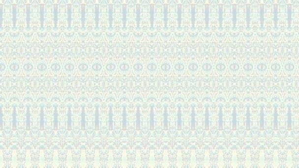 Abstraktní symetrický dekorativní vzor. Opakování záběrů.