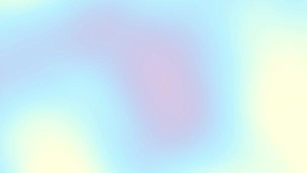 Hladký klouzavý abstraktní rozostření rozostřeného pozadí. Hladký rozostření náhodné vlny. Abstraktní spořič obrazovky pro video. Opakování záběrů.