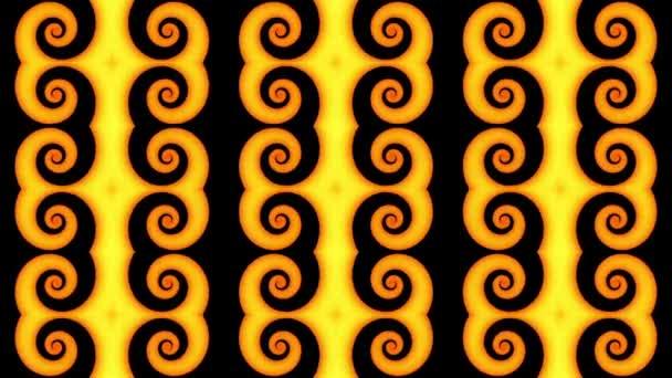 Endlose Spinnerei futuristische Spirale. Nahtlose Looping-Aufnahmen. Abstrakte Helix.