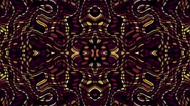 Symmetric ornament loop background