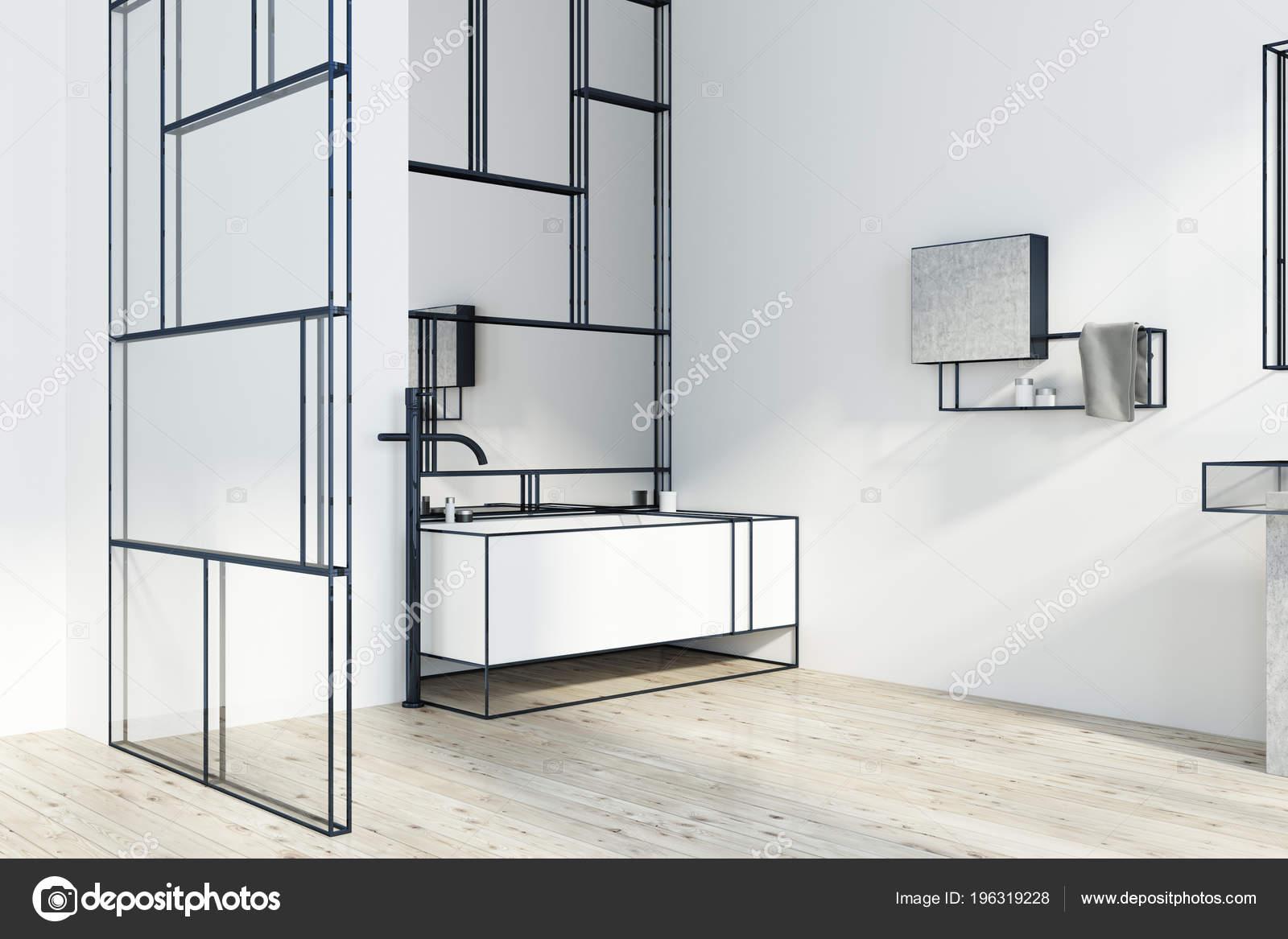 Vetro Vasca Da Bagno Angolare : Bagno con vasca angolare e doccia bagno moderno con la doccia e