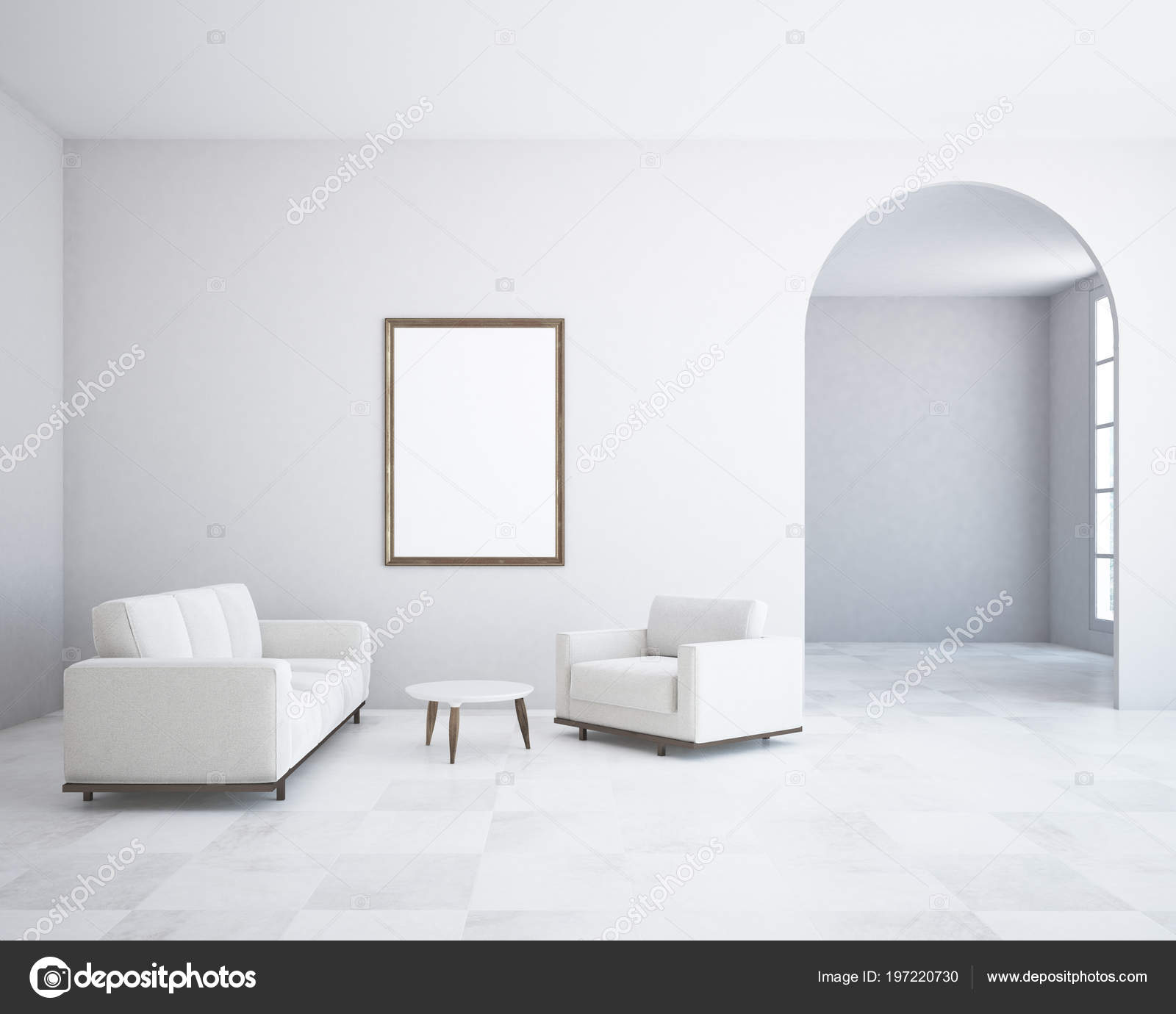 Incredible White Wall Minimalism Living Room Tiled Floor Long White Unemploymentrelief Wooden Chair Designs For Living Room Unemploymentrelieforg