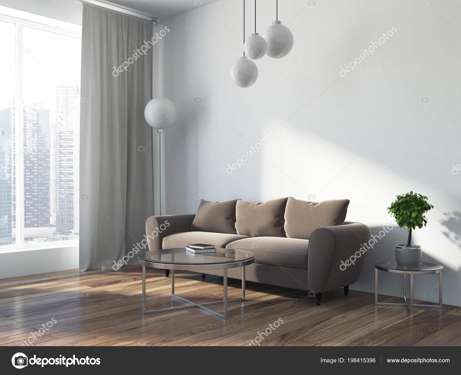 Luxus Beige Sofa Skandinavischen Stil Loft Wohnzimmer Ecke Stand