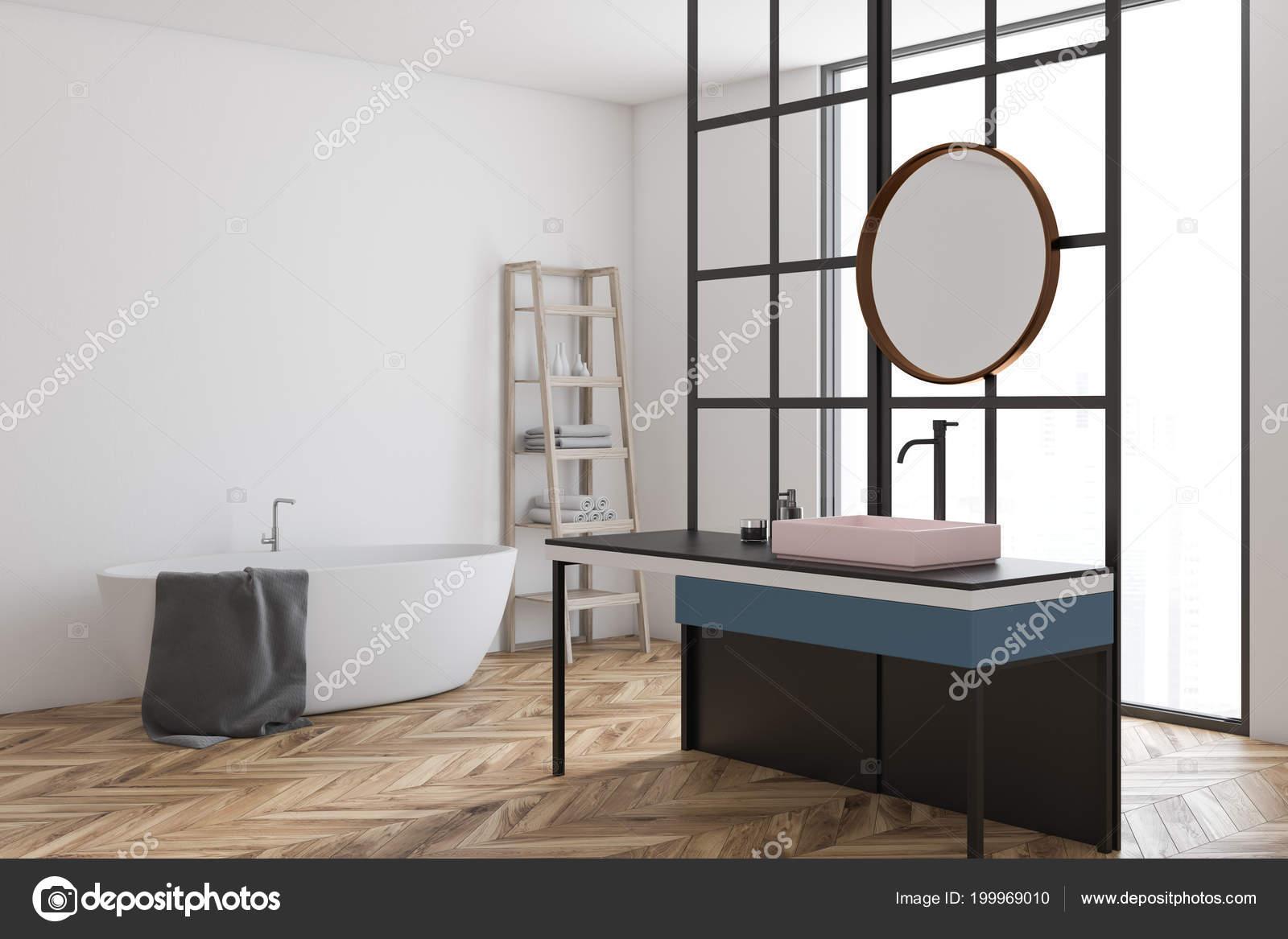 Vasca Da Lavare In Cemento : Angolo moderno bagno con finestra pavimento cemento lavandino con