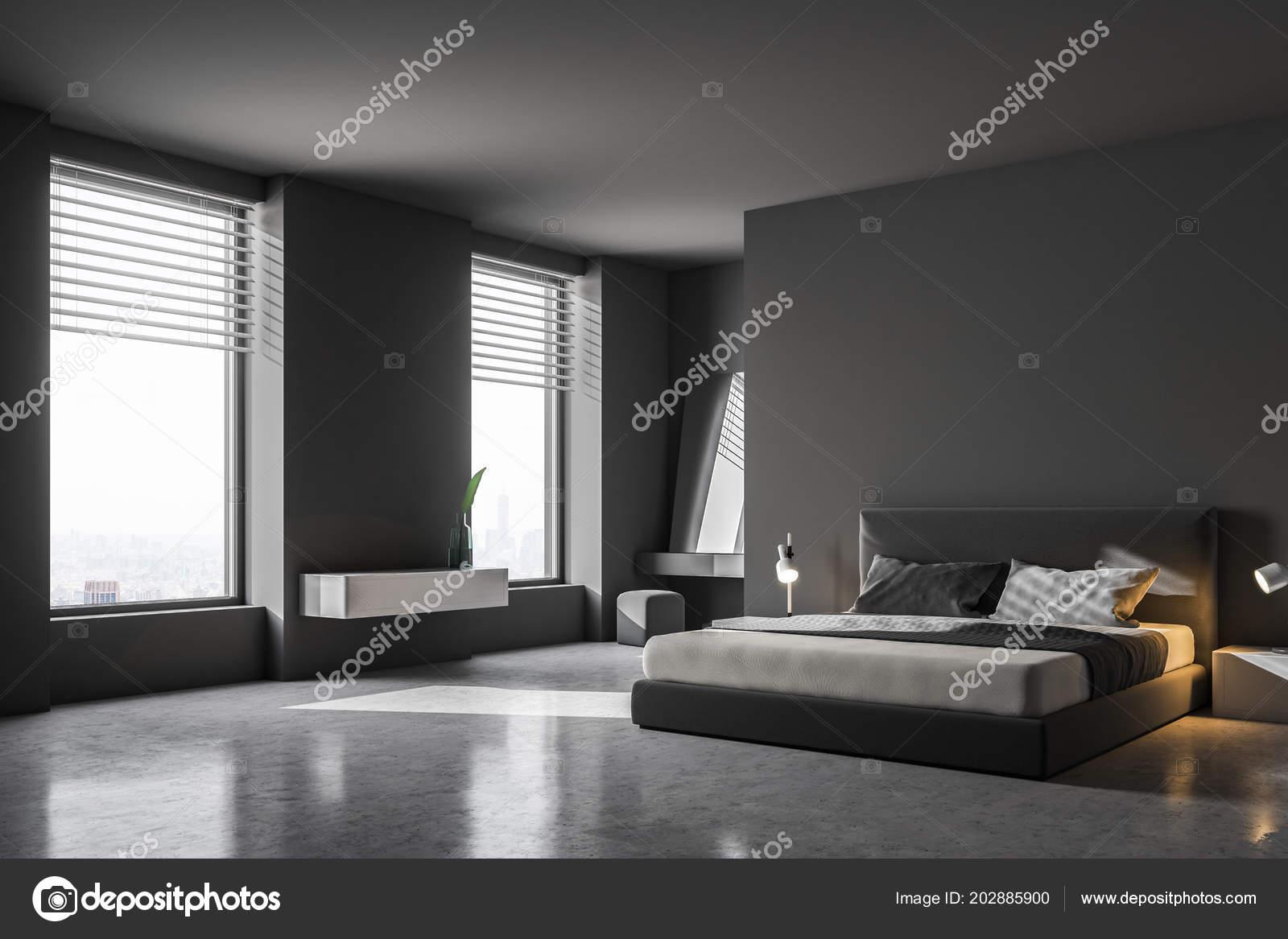 Camere Da Letto Pareti Grigie : Idee per le pareti della camera da letto foto design mag avec