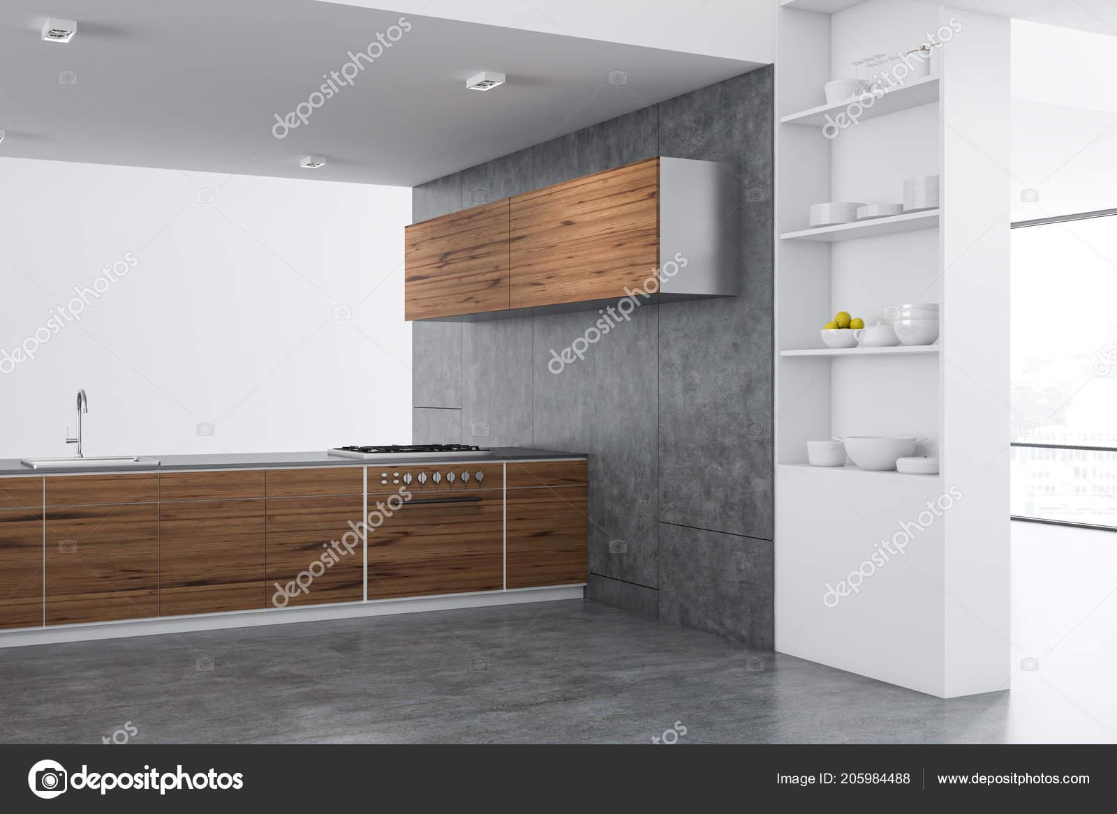 Pictures Kitchen Cupboards Modern Kitchen Corner Wooden Countertops Cupboards Concrete Floor Stylish White Stock Photo C Denisismagilov 205984488,King Bedroom Furniture Sets