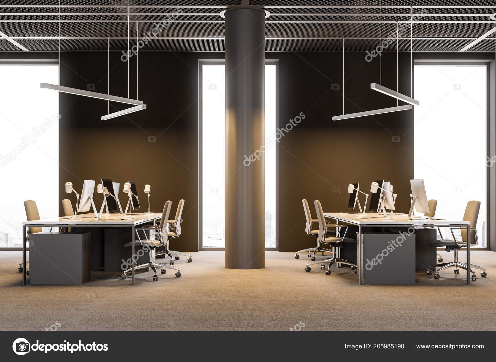 Consultation entreprise bureau décoration moderne avec des bureaux