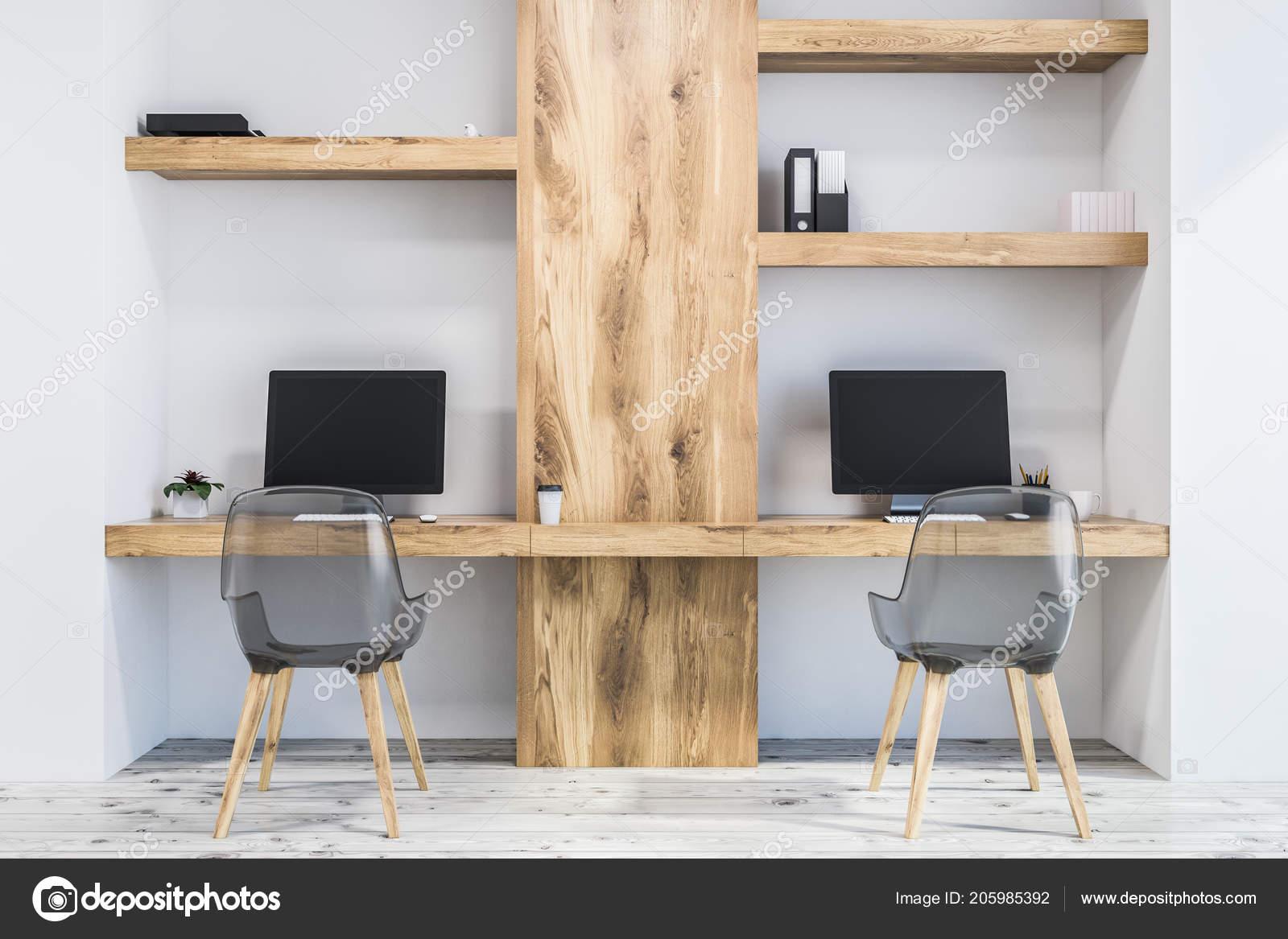 Mur blanc bureau espace travail propriétaire petite entreprise