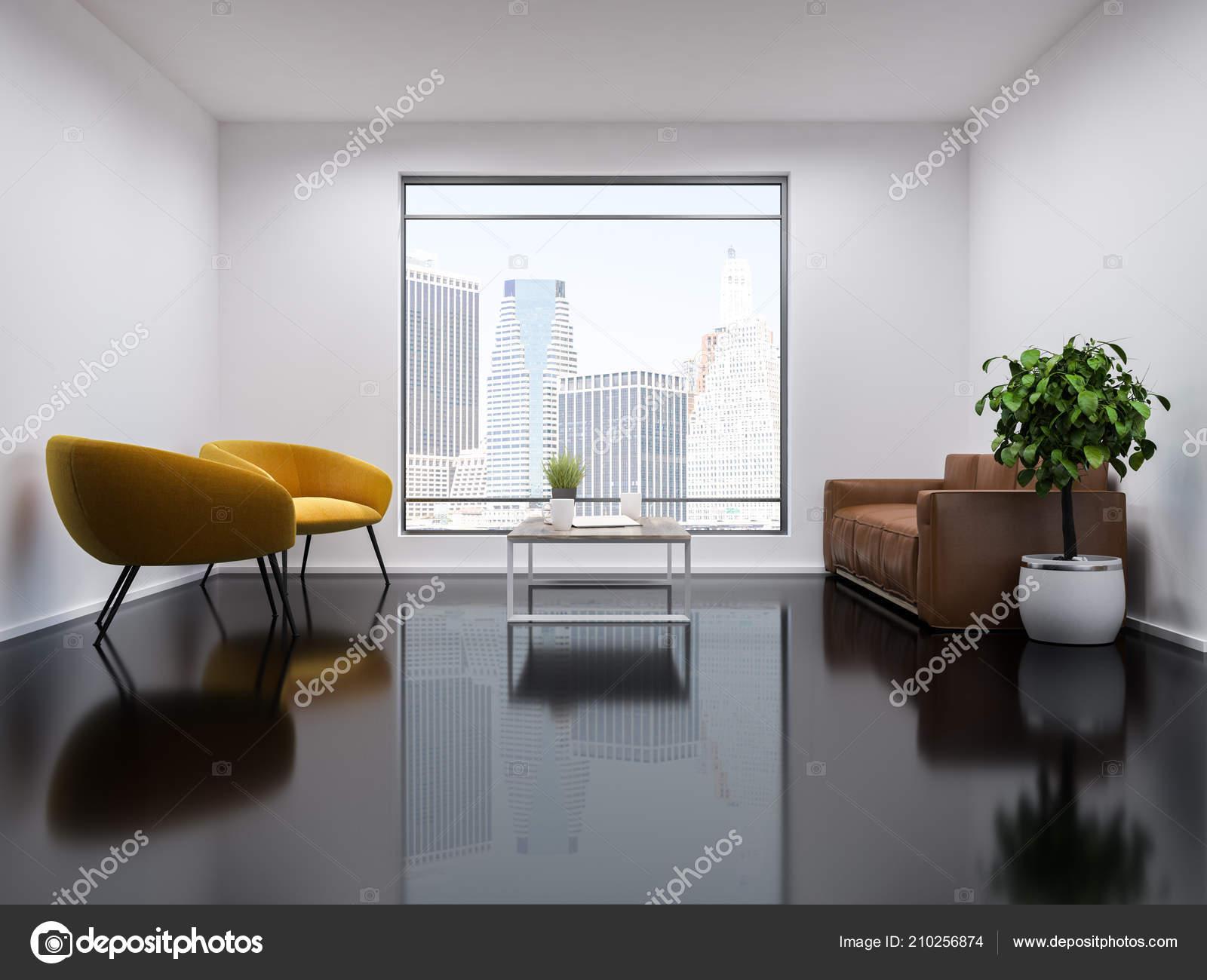 Super Loft Modern Office Waiting Area White Walls Glass Black Inzonedesignstudio Interior Chair Design Inzonedesignstudiocom
