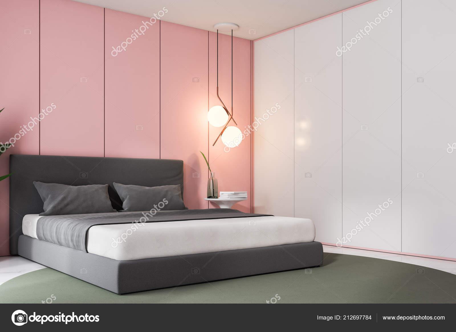 Camera Da Letto Con Pareti Rosa : Angolo della camera letto lusso con pareti rosa pavimento marmo