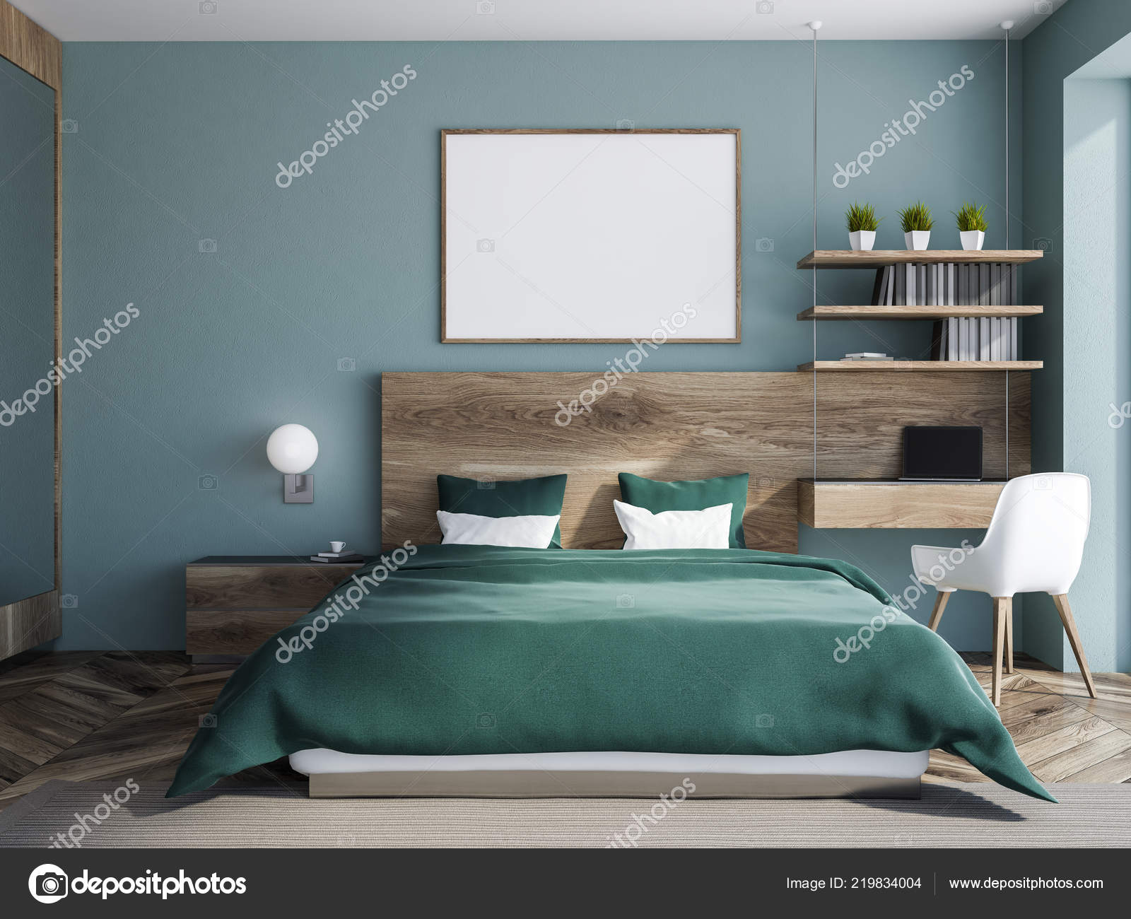 Pictures : bedrooms with blue walls | Interior Stylish ...
