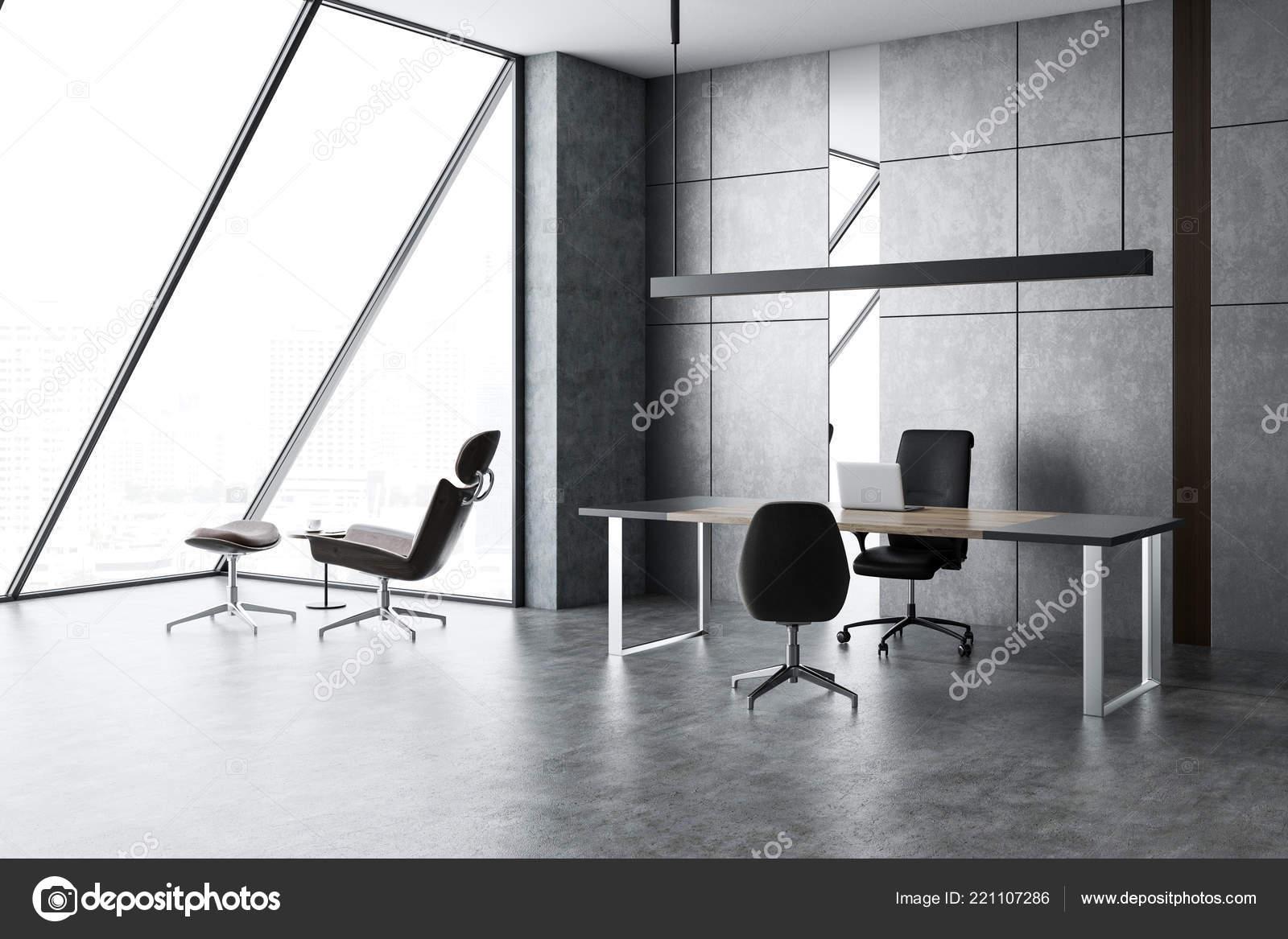 Minimalistisch interieur thuiskantoor minimalistisch warm