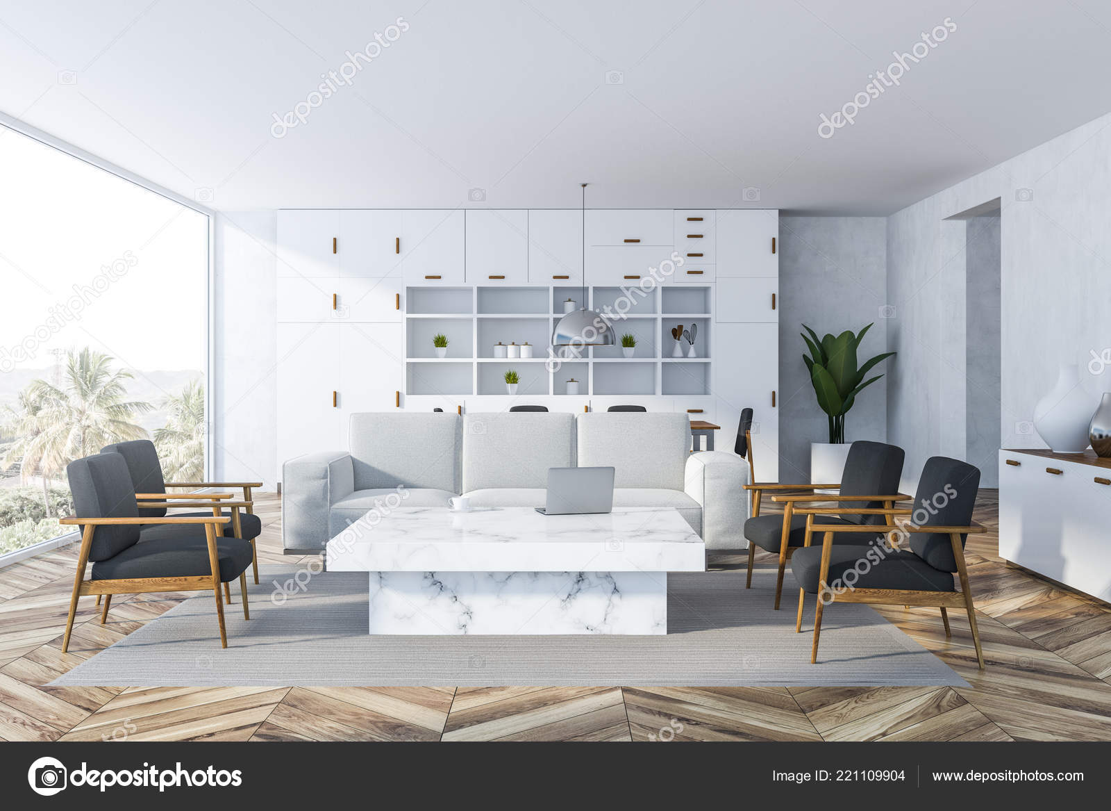 Remarkable Interior White Living Room White Walls Wooden Floor Gamerscity Chair Design For Home Gamerscityorg