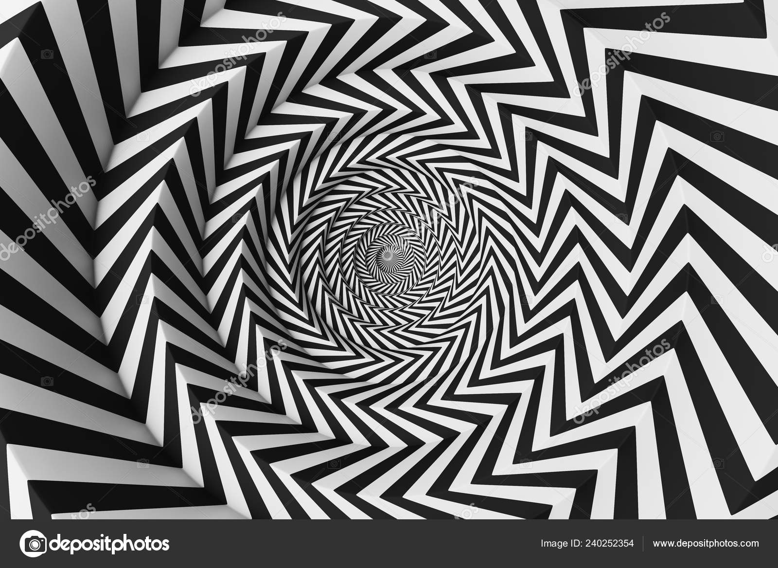 Abstract Art Concentric Circles