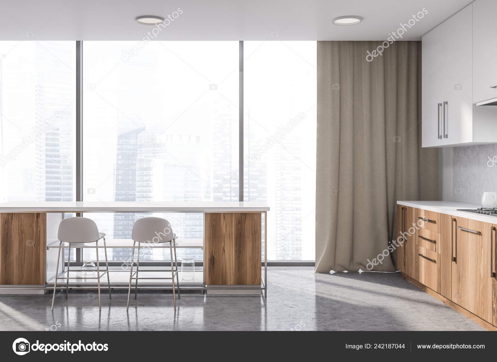 Stoere keuken met beton staal en hout interieur inrichting