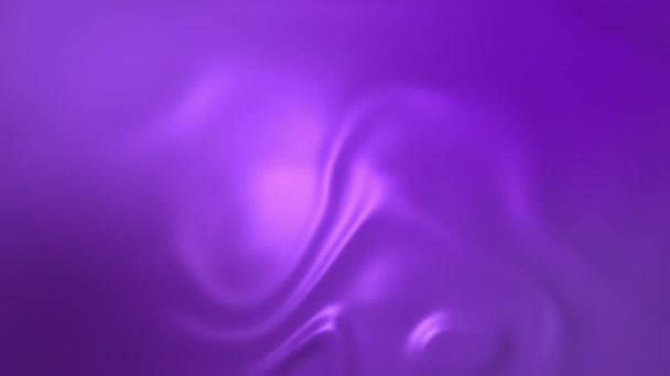 Purple silk cloth surface with waves on it, video animation of silky background.