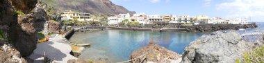 Tamaduste bay and public bath, El Hierro, Spain