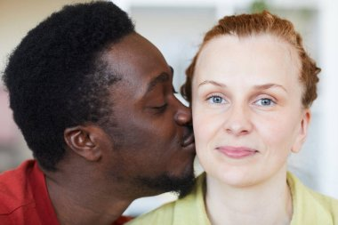 Multiracial young couple