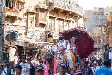 Jaisalmer/India-12.07.2019:The picture from desert festival in Jaisalmer in India