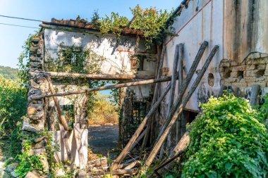 Abandoned fisherman village in Hong Kong