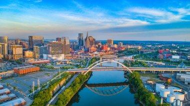 Nashville, Tennessee, USA Skyline Aerial
