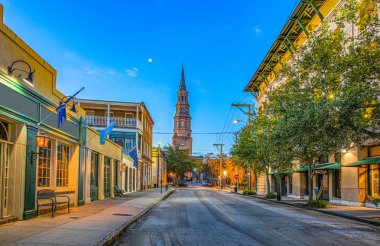 Church Street in Charleston, South Carolina, USA.