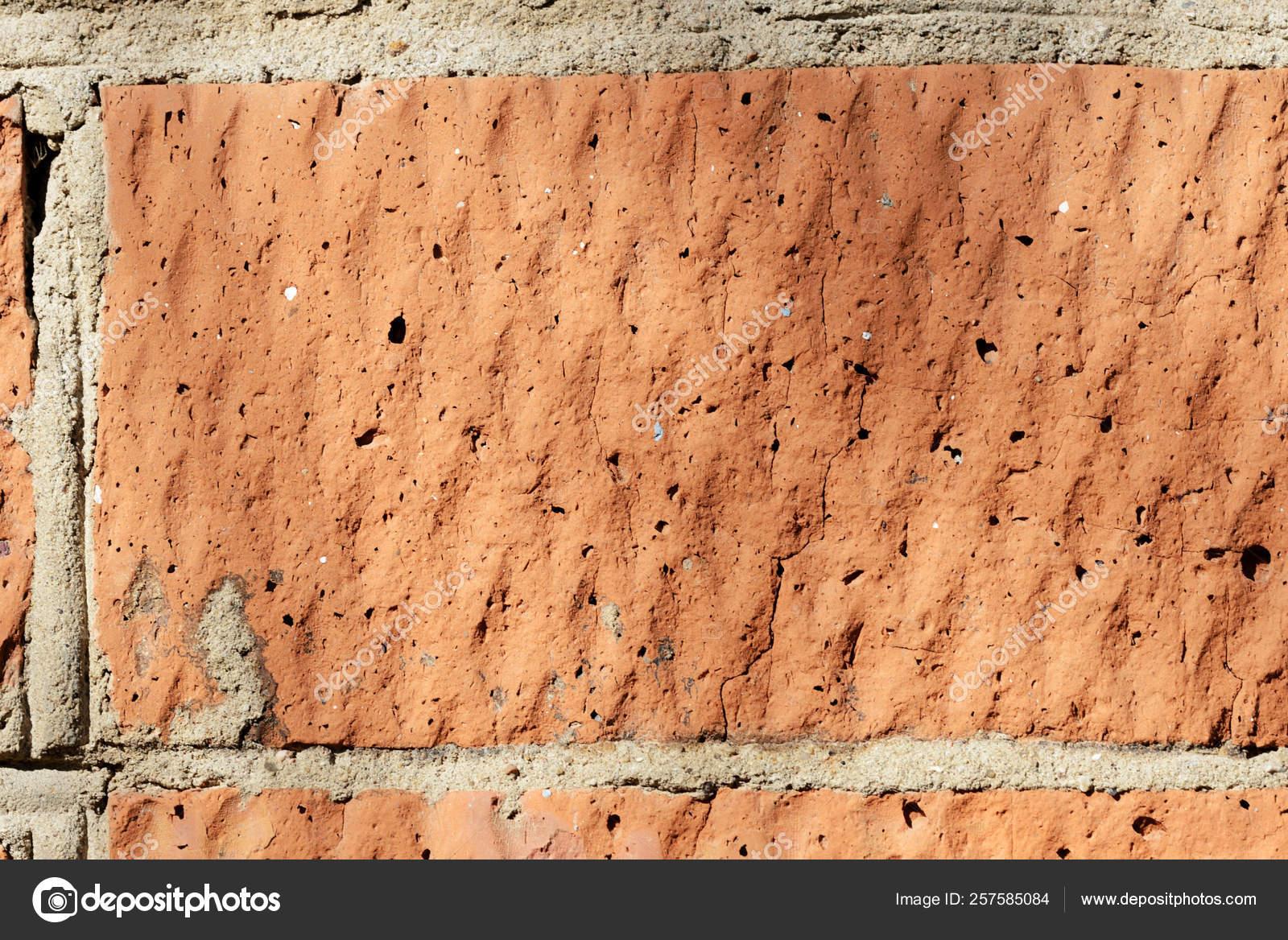 Mur En Brique Rouge texture mur brique rouge fermer fond brique — photographie