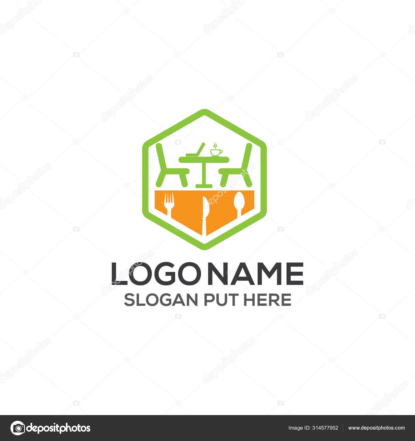 Modern Restaurant Logo Design Template Vector Eps Food Company Business Stock Vector C Sahelahmedbd83 314577952