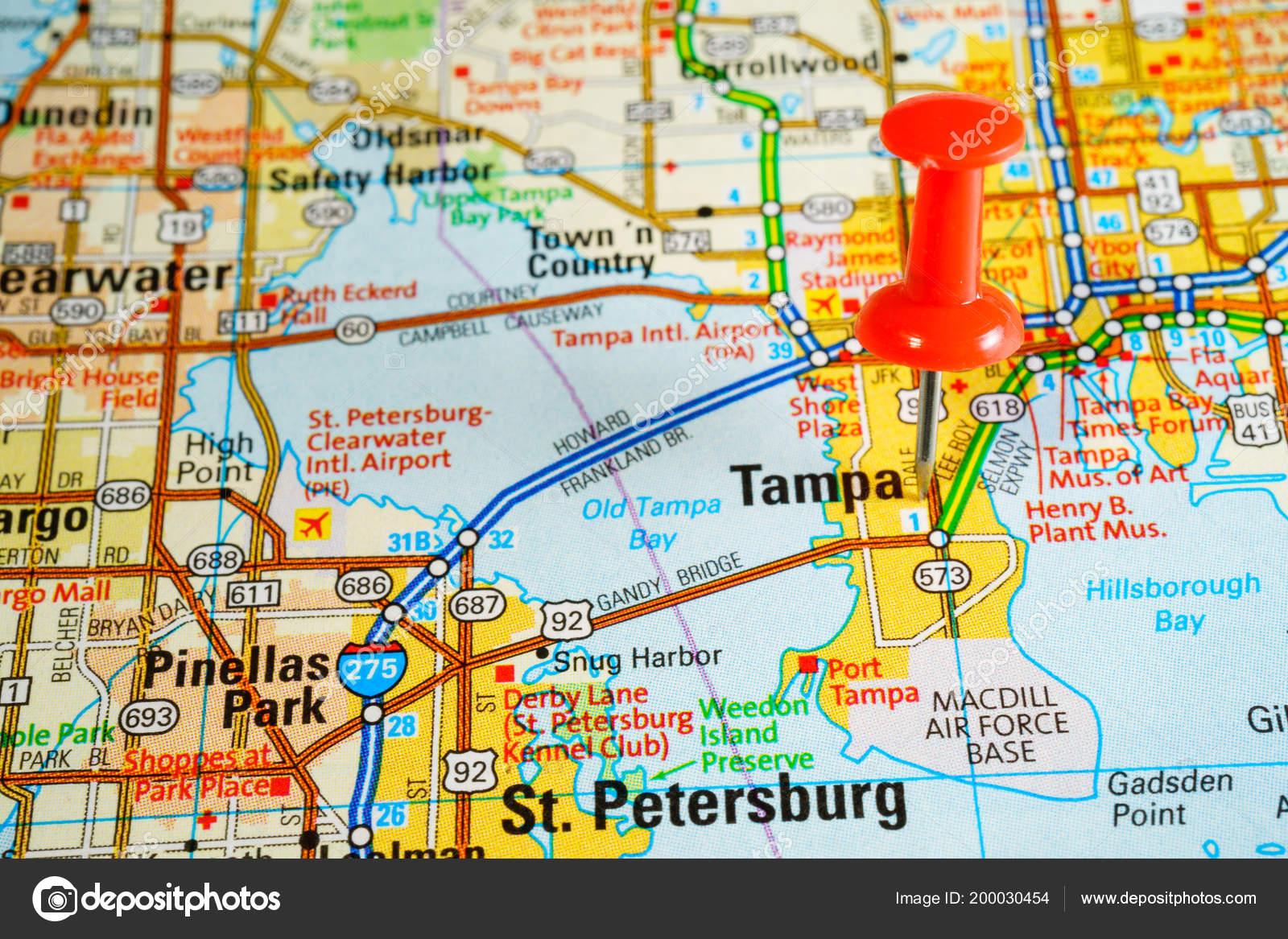 Florida Cities Map.Florida Cities Map Stock Photo C Aallm 200030454