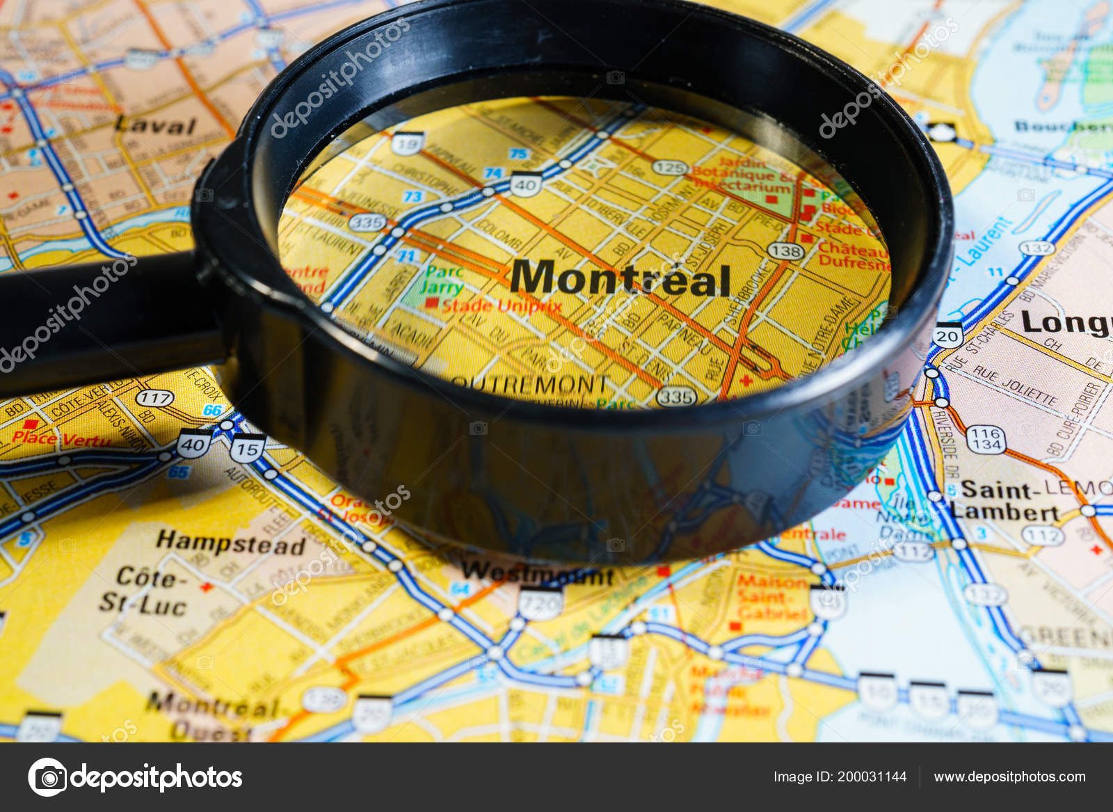Canada Map Montreal.Montreal Canada Map Stock Photo C Aallm 200031144