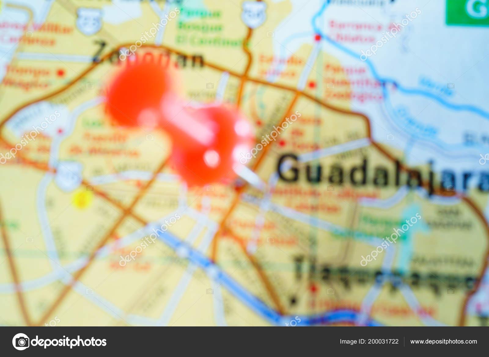 Guadalajara Mexico Mapa Fotos De Stock C Aallm 200031722