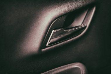 Interior doors of the car