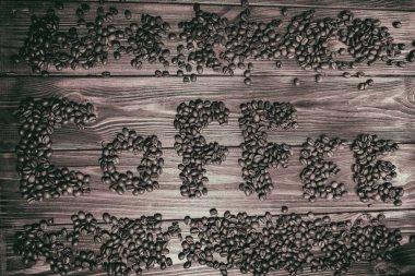 Coffee theme, coffee beans