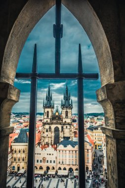 The magnificent architecture of medieval Prague, a trip to Europe