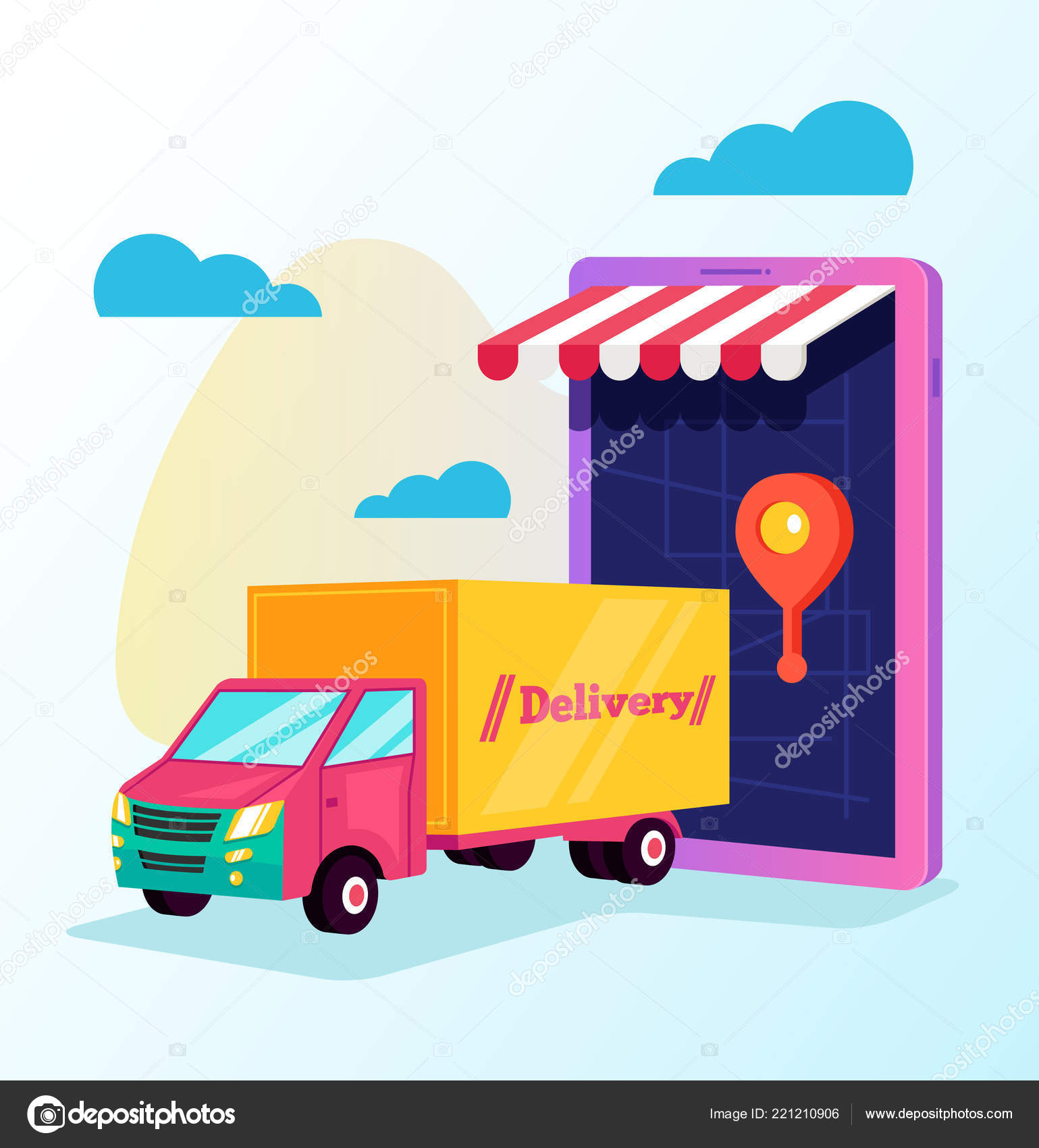 tracking smartphone online cargo delivery delivery tracking way car