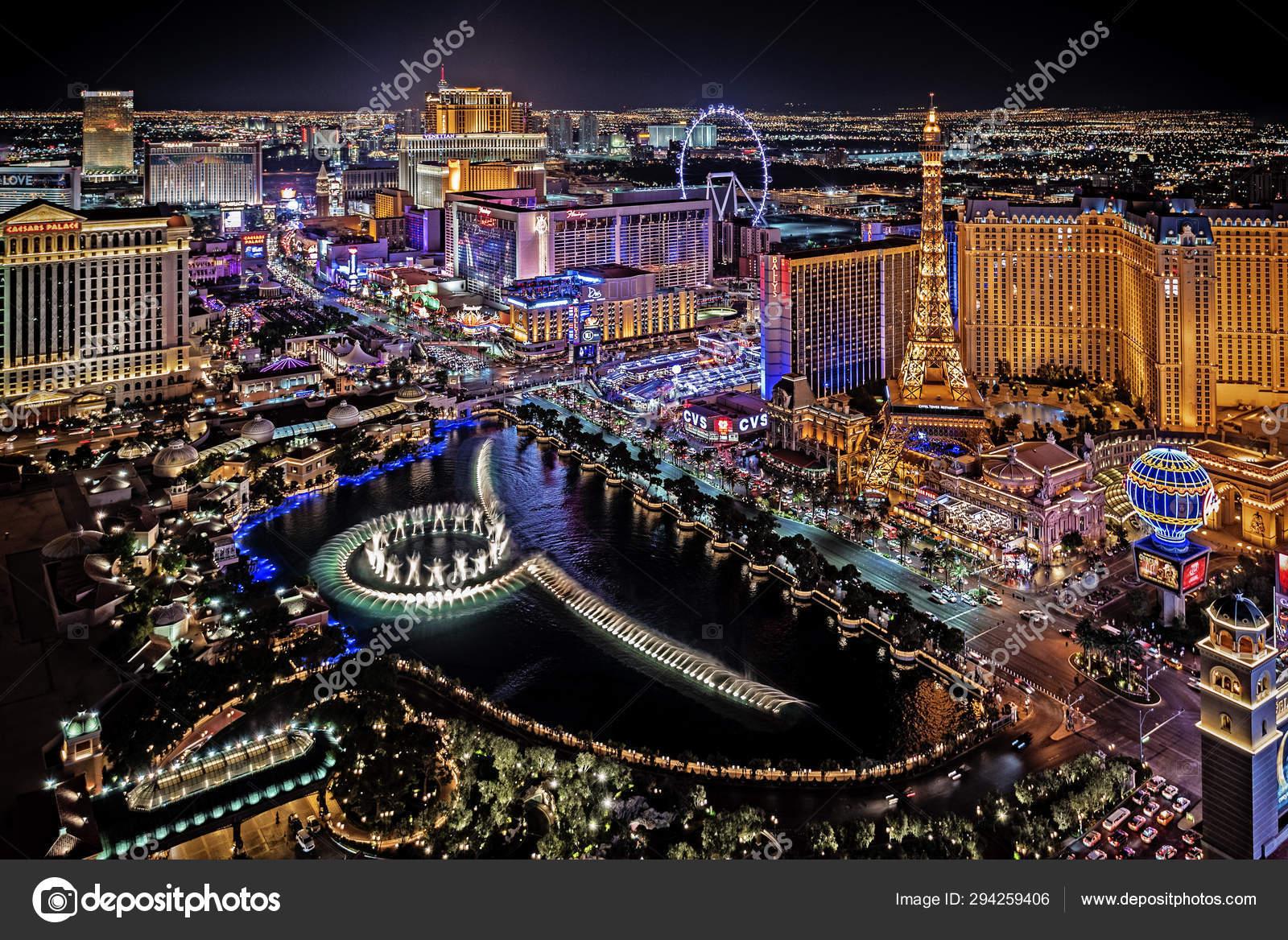 Las Vegas Nevada 2019 Panoramic View Las Vegas Strip – Stock Editorial  Photo © rjv101@charter.net #294259406