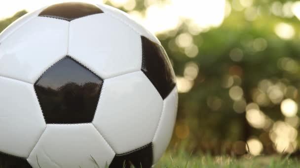 futball a fű zöld természetes homályos háttér