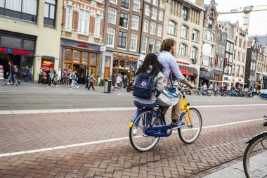 Bike usage in Amsterdam has grown by more than 40% in the last 2