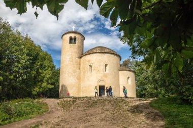 The rotunda of Saint George on top of the hill p, Czech republic