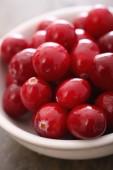 Fotografie cranberries fresh in dish