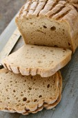 fresh gluten  free bread
