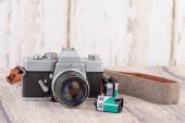 régi analikus kamera sebességváltó retro vintage