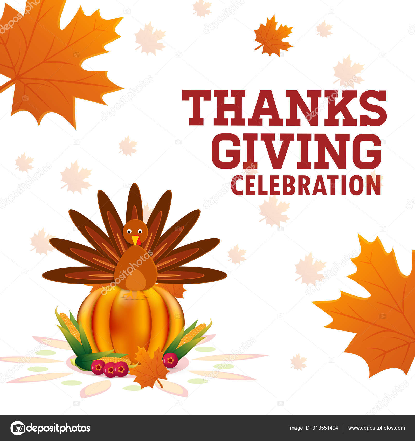 Thanksgiving Day Sale Web Banner Template Give Thanks Promo Offer Stock Vector C Nonhoursdesign 313551494