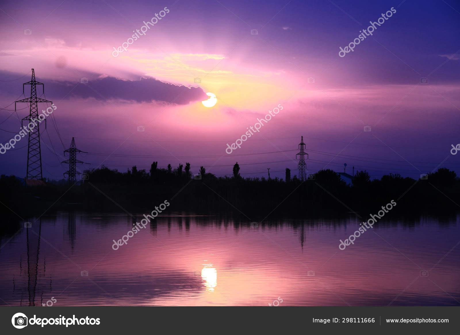 Aesthetic Sunrise Stock Photo Image By C Wirestock 298111666