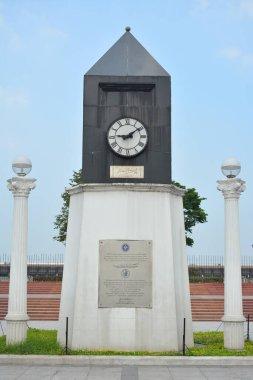 MANILA, PH - APR 7 - Memorial clock on April 7, 2019 in Manila, Philippines.